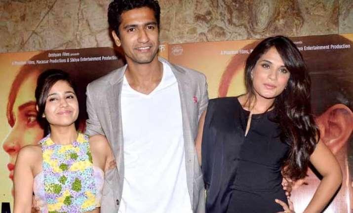 richa chadha s masaan gets thumbs up from bollywood see pics