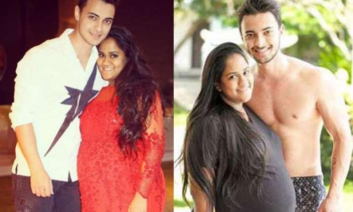 unseen pics here s how salman s pregnant sister arpita khan
