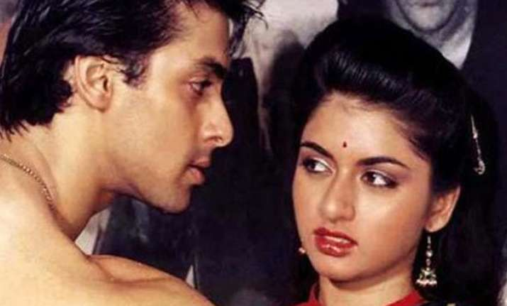 why bhagyashree did not want to hug salman khan in maine