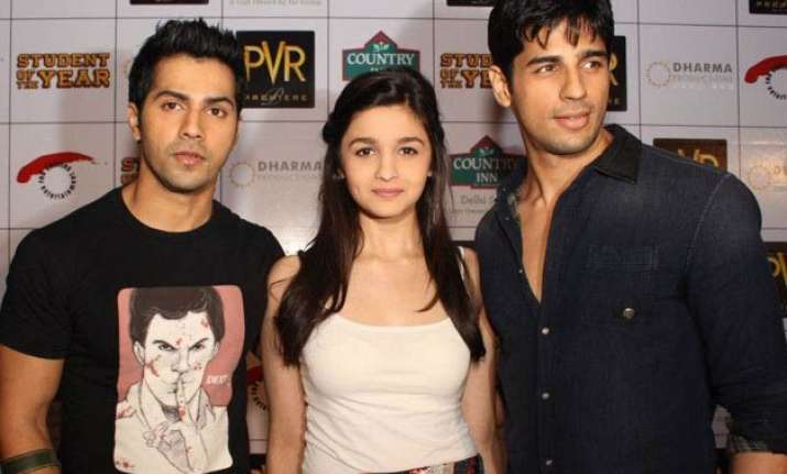 3yearsofsoty varun alia and sidharth get nostalgic over