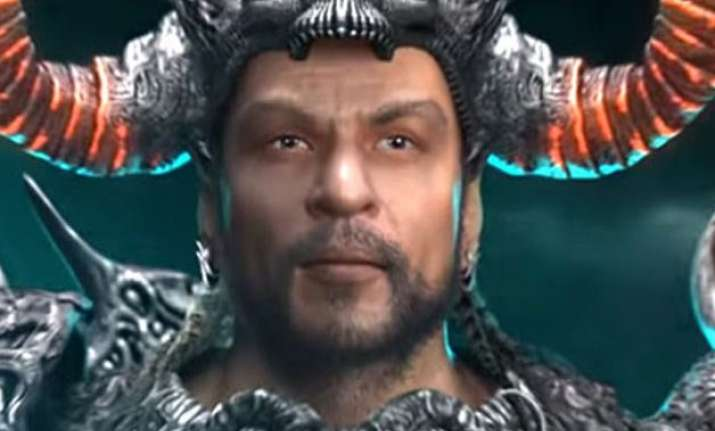 shah rukh excited about graphic novel atharva the origin