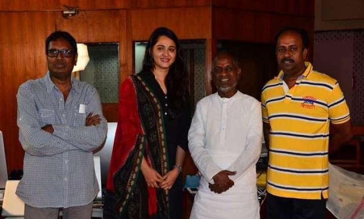 illayaraja in london for re recording of rudhramadevi