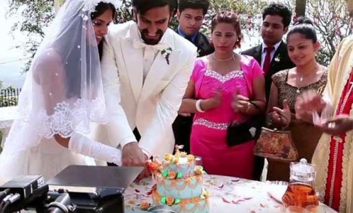 Ranveer Singh-Deepika Padukone's catholic wedding video ...