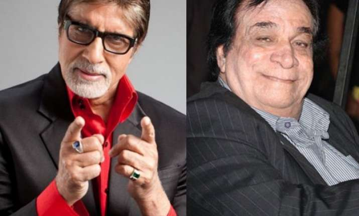 amitabh bachchan s tweet about kader khan will make cine