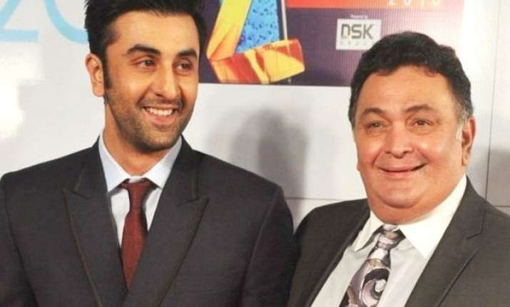 rishi kapoor on ranbir he doesn t live with us which is a