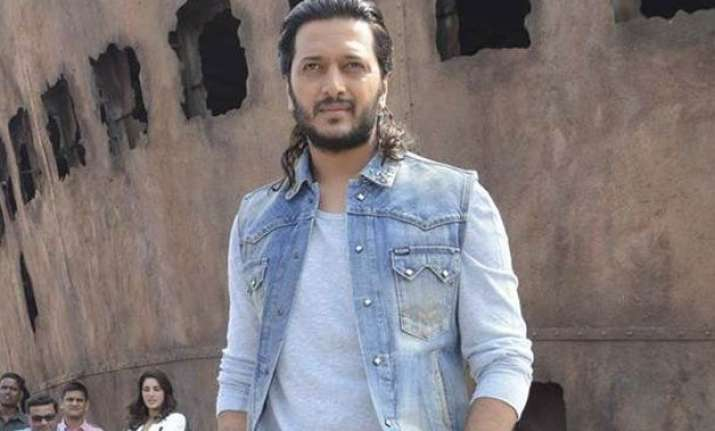 riteish deshmukh s new look is the reason for delayed