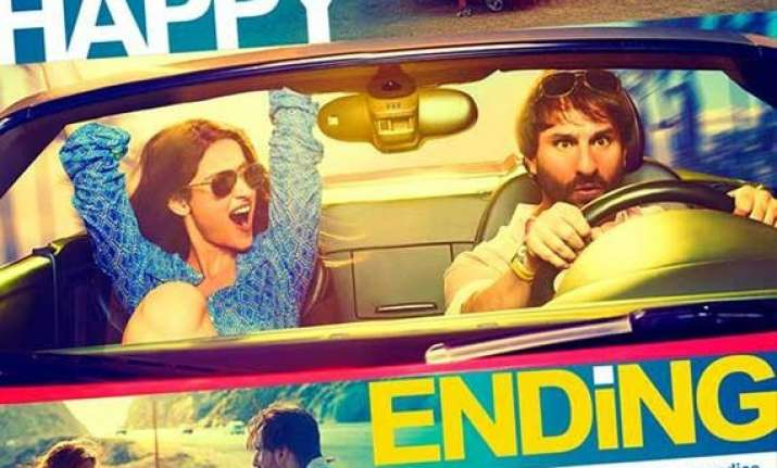 happy ending movie review it s ususal yet lively