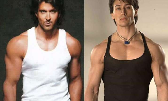 hrithik is god of everything tiger shroff