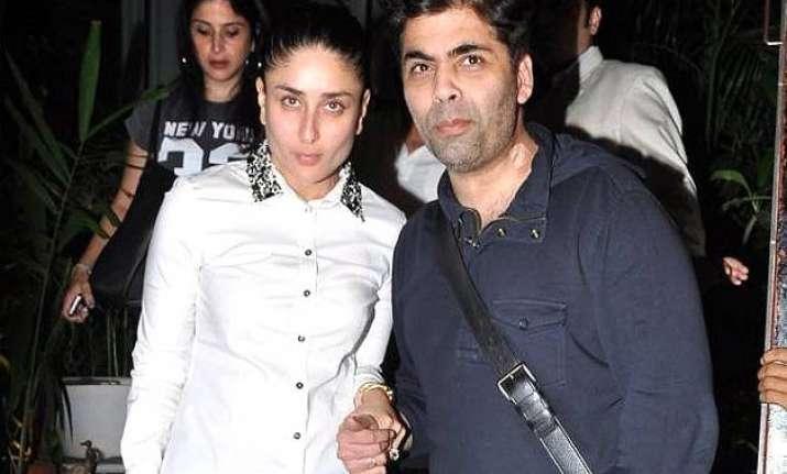 karan johar expresses love for kareena says she is the wife