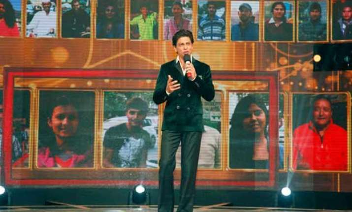 when srk got auctioned on tv show