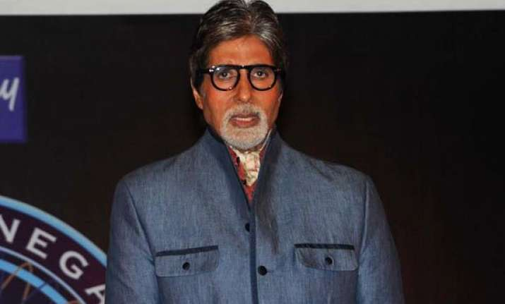 big b down with fever kbc 8 shoot perturbed