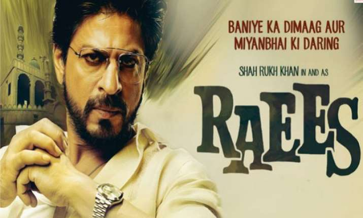 now srk s raees in trouble over actor s intolerance jibe