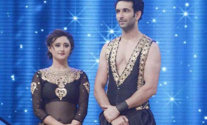nach baliye 7 nandish rashmi still at logger heads