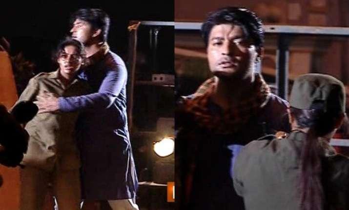 sooraj gets shot dead by garjana sanghatan in diya aur
