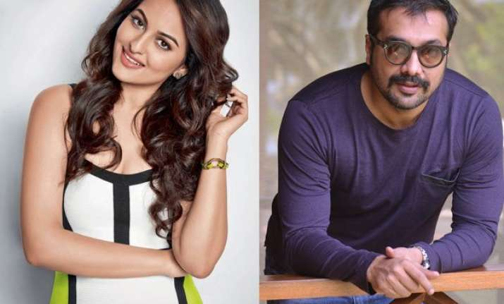 sonakshi sinha wants anurag kashyap to become an actor