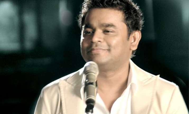 a.r. rahman say no to violence against religion