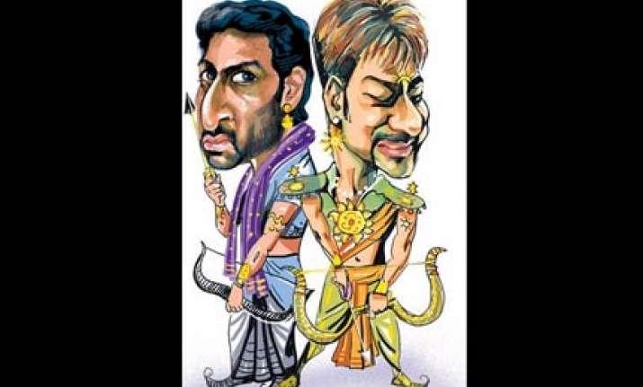 raavan rajneeti arjun and paanch kauravs to release in 2010