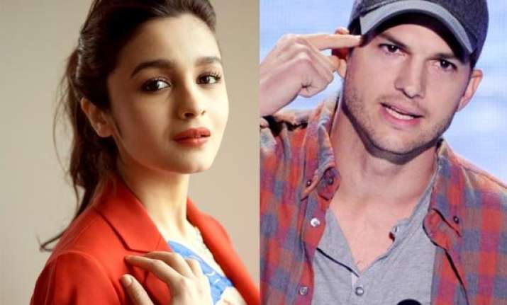 alia bhatt s short film impresses ashton kutcher
