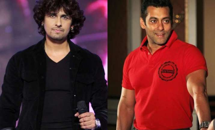 sonu nigam opens up about his alleged tiff with salman khan