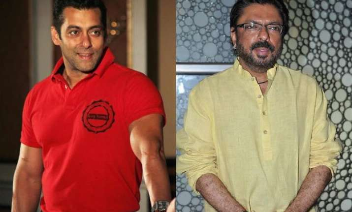 salman khan gives sanjay leela bhansali tough time for