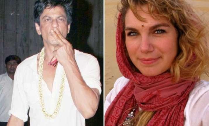 here s how shah rukh khan charmed a female tourist in west
