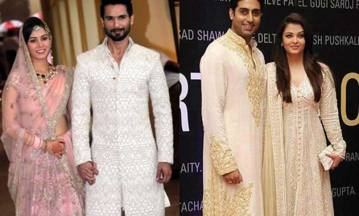 awww abhishek shahid to give special gift to their wives