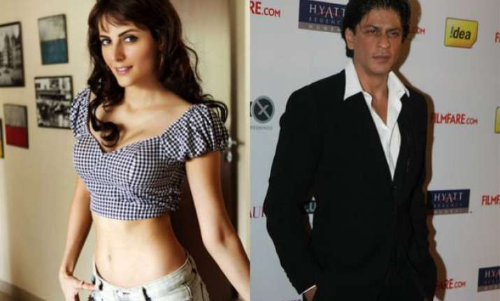 mandana karimi had debuted opposite srk and here s proof