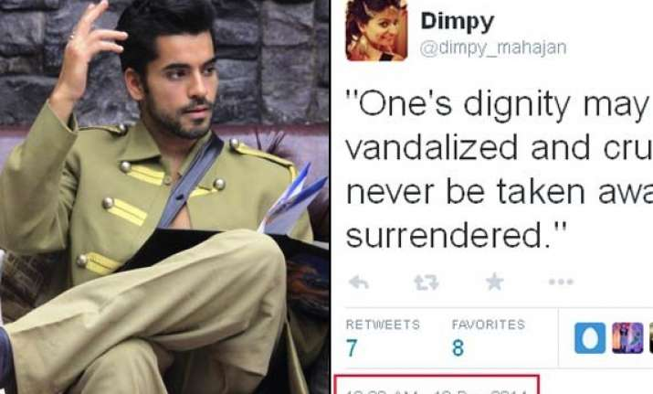 how come bigg boss 8 contestants using twitter from inside