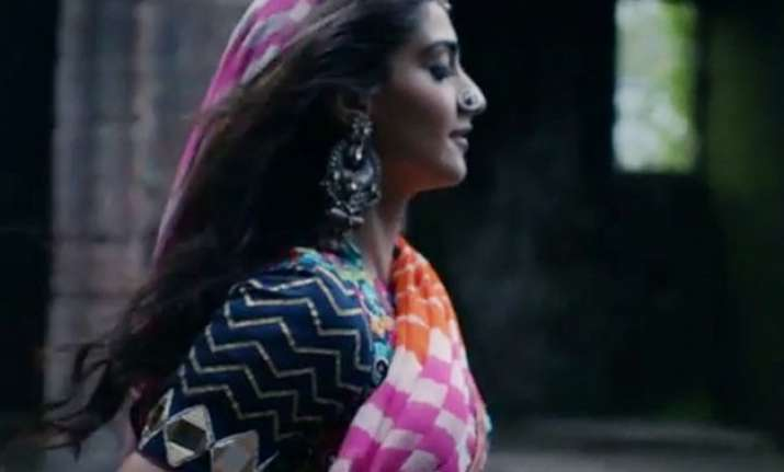 video sonam beyonc and coldplay show the colourful side of