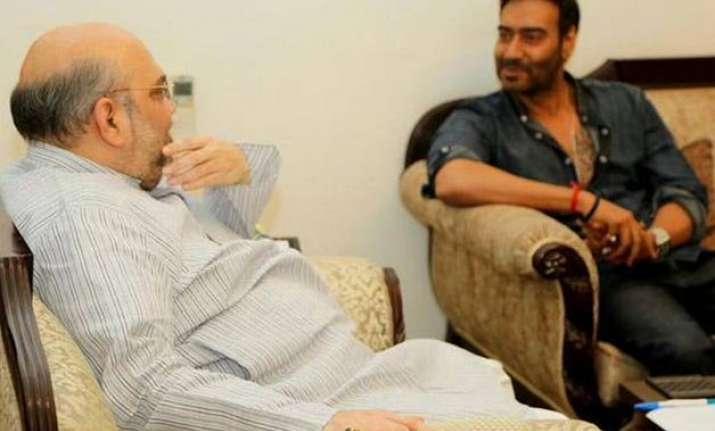 bjp president amit shah wishes ajay devgn for drishyam