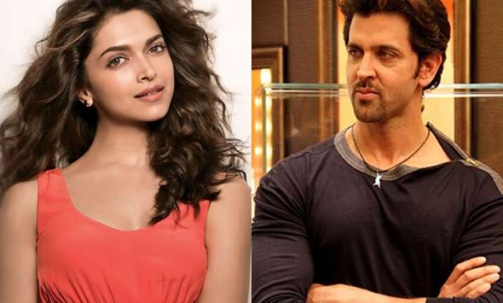 is deepika padukone finally going to work with hrithik