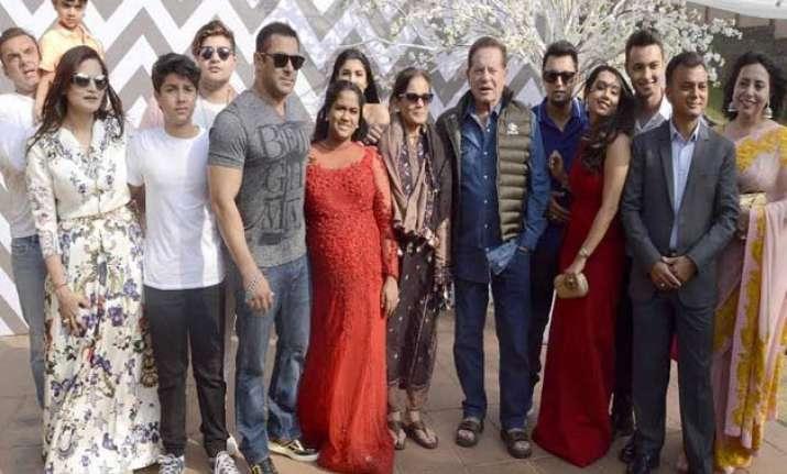 salman khan hosts star studded baby shower for little