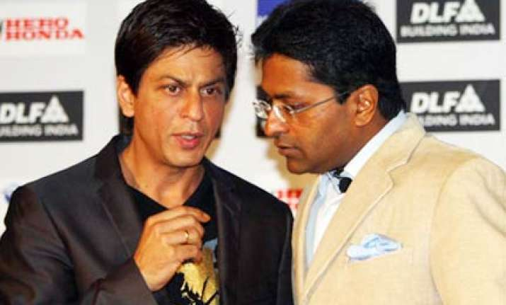 srk declines to play lalit modi s role