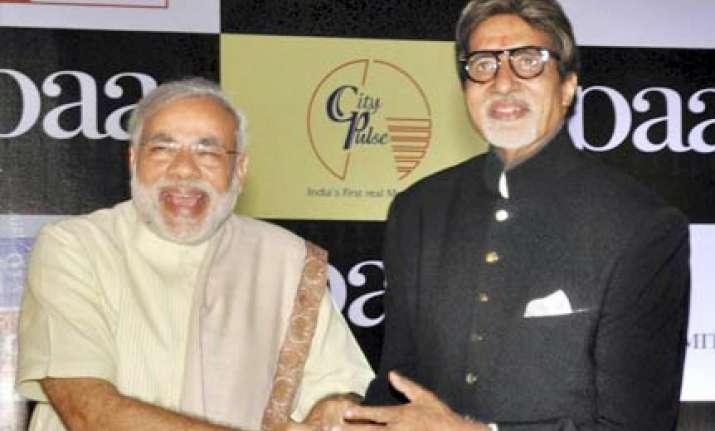 narendra modi is secular says big b