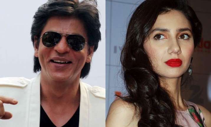 shah rukh is the best co star mahira khan could ask for.