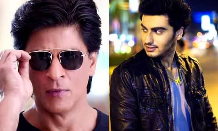 shah rukh and arjun kapoor to play brothers in rohit shetty
