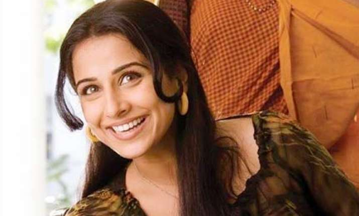 vidya balan admitted to hospital for muscle pull