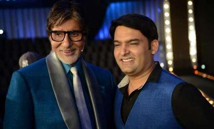 kapil sharma s new year resolution sachin big b at comedy
