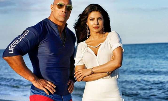 priyanka chopra praises dwayne the rock johnson s