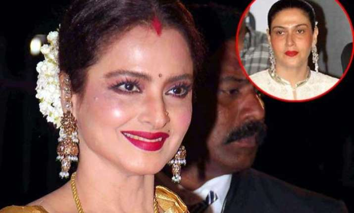 rekha wear sindoor for amitabh bachchan reveals puneet