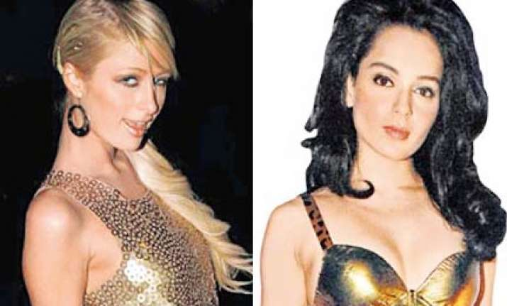 paris hilton fashions approach kangna