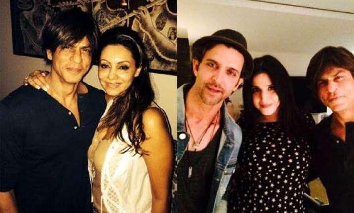gauri khan s star studded birthday bash with husband srk