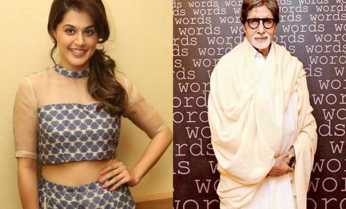taapsee pannu amitabh bachchan to shoot for shoojit sircar