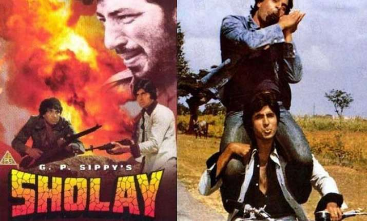 the way sholay was supposed to end will shock you