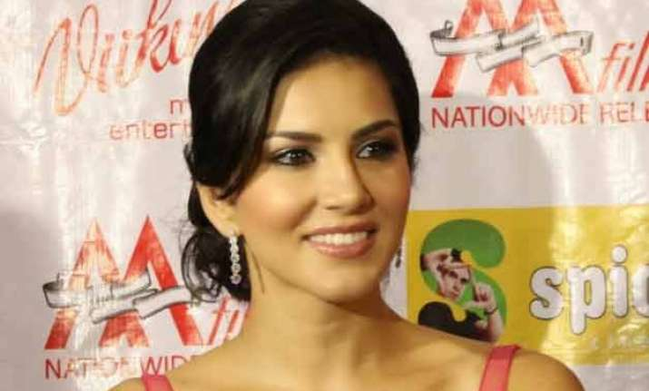 mistreating women makes you a monster says sunny leone