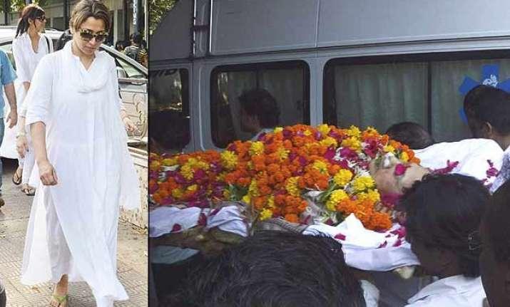 sudha shivpuri funeral pics