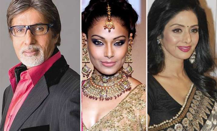 big b sridevi bipasha wish happy dhanteras to the nation