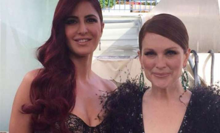 cannes 2015 katrina kaif gets clicked with julianne moore