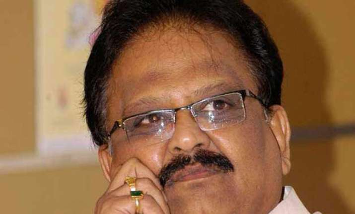 s.p. balasubramaniam croons for swachh bharat campaign