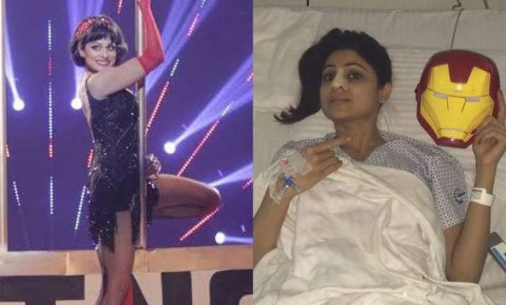 jhalak dikhla jaa reloaded shamita shetty gets injured
